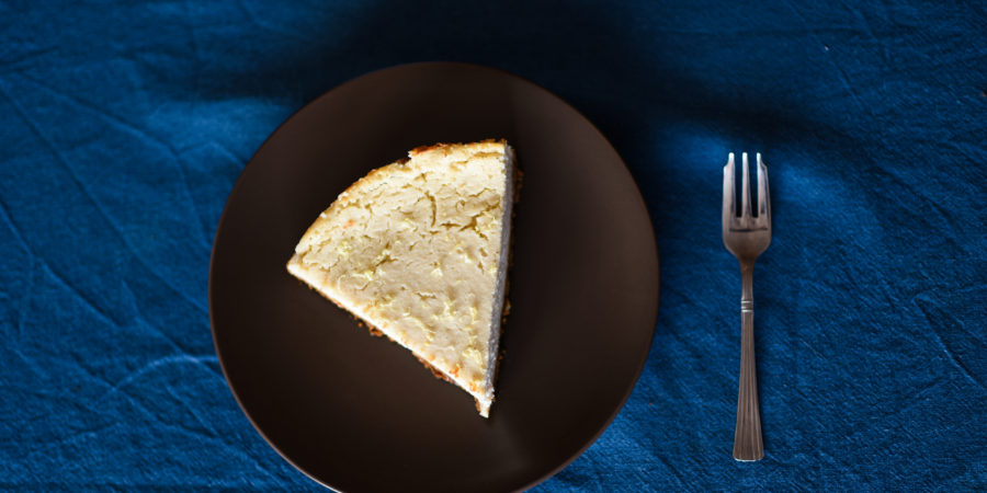 cheesecake vegan au citron