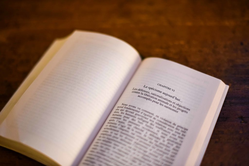 La libération animale, Peter Singer