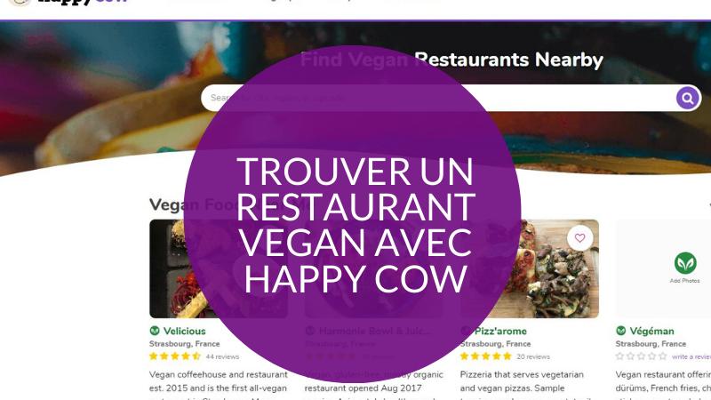 trouver un restaurant vegan